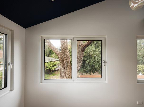 Windows on different orientations