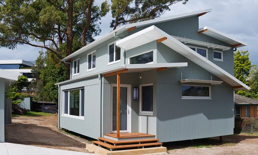 A unique passive house
